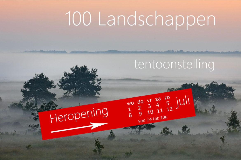 100 Landschappen – HEROPENING